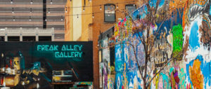 Freak Alley Gallery in Boise