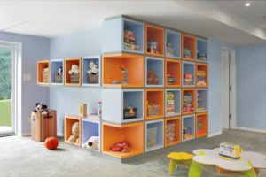 storage ideas for playroom